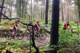 Mountainbiken ten voordele van kinderkankerfonds