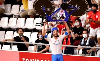 Indrukwekkende Ganna bezorgt Italië goud en nieuw wereldrecord in ploegenachtervolging