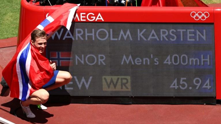 Dé atletiekprestatie van de Olympische Spelen? Noor Karsten Warholm wint 400 m horden in waanzinnig wereldrecord