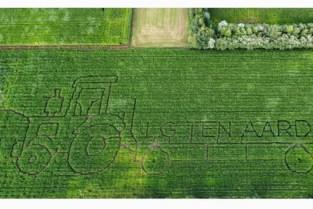 Landelijke Gilde legt weer maïsdoolhof aan