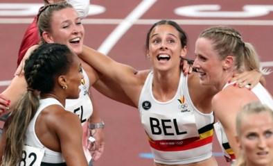 """Belgian Cheetahs kwalificeren zich in Belgisch record voor finale 4x400m: """"We gaan niet lopen om 8ste te eindigen"""""""