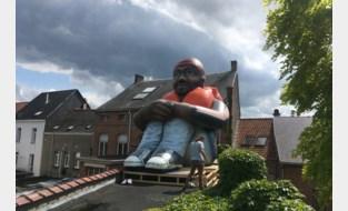 Maria Vergult krijgt tijdelijk broertje op dak van kunstenplatform