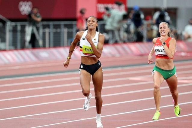 TEAM BELGIUM LIVE. Alweer goud! Nafi Thiam verlengt olympische titel in Tokio, Noor Vidts grijpt net naast het brons