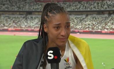 """Emotionele Nafi Thiam na gouden medaille: """"Ik ben mentaal moe, gewoon leeg"""""""