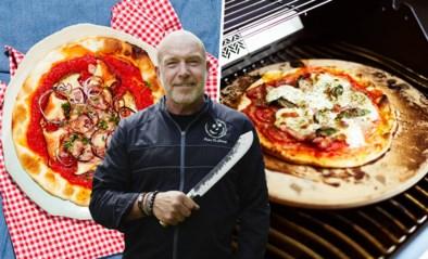 Zo bereidt BBQ-kampioen Peter De Clercq pizza op de barbecue: van diepvriespizza tot volledig zelfgemaakt