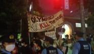 """Protest bij slotceremonie in Tokio: """"Spelen maken de armen dood"""""""