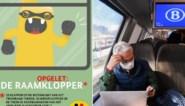 """Spoorwegpolitie waarschuwt pendelaars voor zakkenrollers: """"Pas op voor de raamklopper"""""""