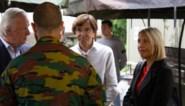 Di Rupo en Dedonder bezoeken vrijwilligers en militairen in Jupille en Chaudfontaine