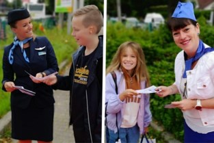 Ready for take-off! Basisschool neemt een vliegende start met piloten en stewardessen