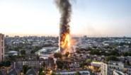 Afgebrande Grenfell Tower in Londen gaat tegen de vlakte