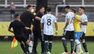 Ongezien: Braziliaanse gezondheidsautoriteiten leggen match tussen Brazilië-Argentinië stil om vier Argentijnen van het veld te halen, match officieel opgeschort