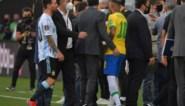 FIFA betreurt coronarel tussen Brazilië en Argentinië