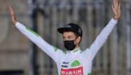 Sterke Vuelta kost 'beste jongere' Gino Mäder meer dan vierduizend euro voor een duurzame planeet