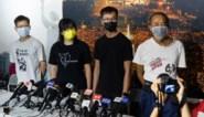 Opnieuw vier vooraanstaande activisten gearresteerd in Hongkong