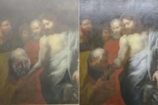 Ongeloof in Pulle: Thomas blijkt Petrus na restauratie schilderij in kerk