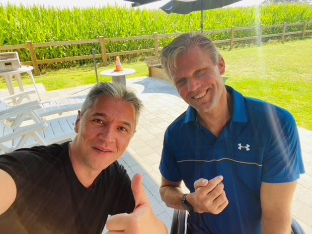 """Gouden paralympiër Peter Genyn (44): """"Mijn broer heeft mijn leven gered"""""""