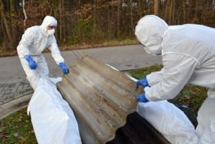 Inwoners laten 2.000 ton asbest verwijderen tijdens Vlaams testproject