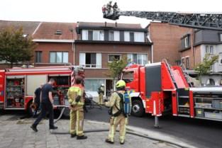 Kleine woningbrand in Merksem: brandweer kreeg vuur binnen de vijftien minuten onder controle