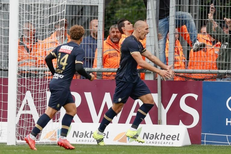 Antwerp kan nog eens winnen: topschutter Michael Frey bezorgt Great Old felbevochten zege tegen revelatie Eupen
