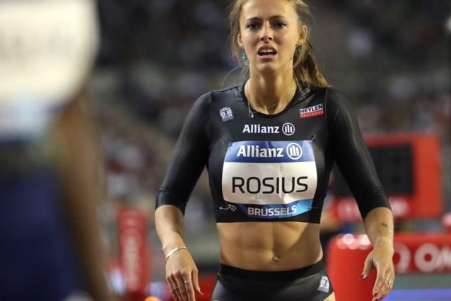 Rani Rosius finisht zevende bij haar seizoensafsluiter in Berlijn