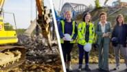 """Nostalgische brug Tervant net op Monumentendag afgebroken: """"In zomer 2022 nieuwe brug"""""""