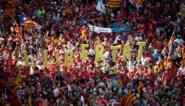 Meer dan 100.000 Catalanen op straat voor onafhankelijkheid
