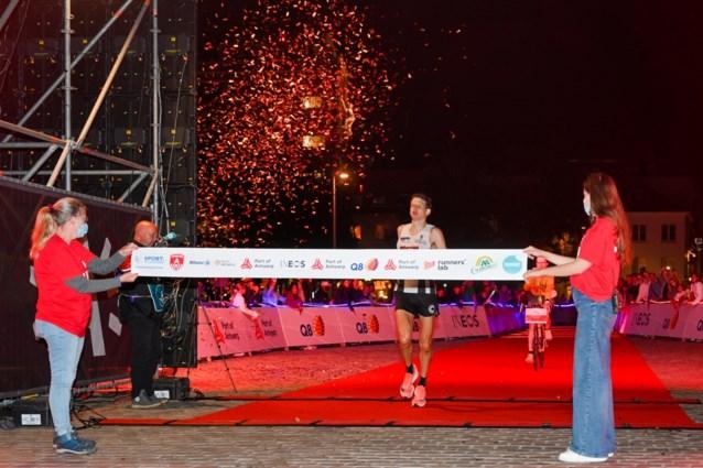 Filip Vercruysse en Lieselotte Beck veroveren Belgische marathontitels tijdens Port of Antwerp Night Marathon