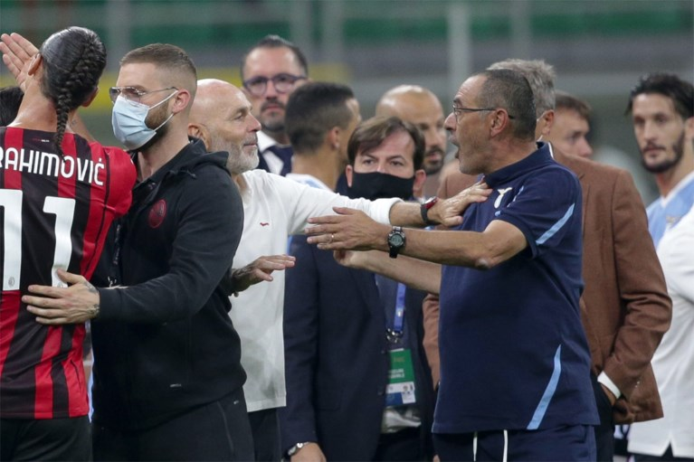 Ibrahimovic e Salemakers iniziano la rivolta in Italia dopo la vittoria dell'AB Milan, allenatore della Lazio con cartellino rosso