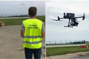 Luchthaven test gebruik van drones om vogels op veilige afstand te houden, inclusief luidspreker om roofvogels na te bootsen