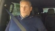 """Aangeschoten Gert Verhulst ongemakkelijk tijdens autorit met Marie: """"Verwittig mij als je over een bult rijdt"""""""