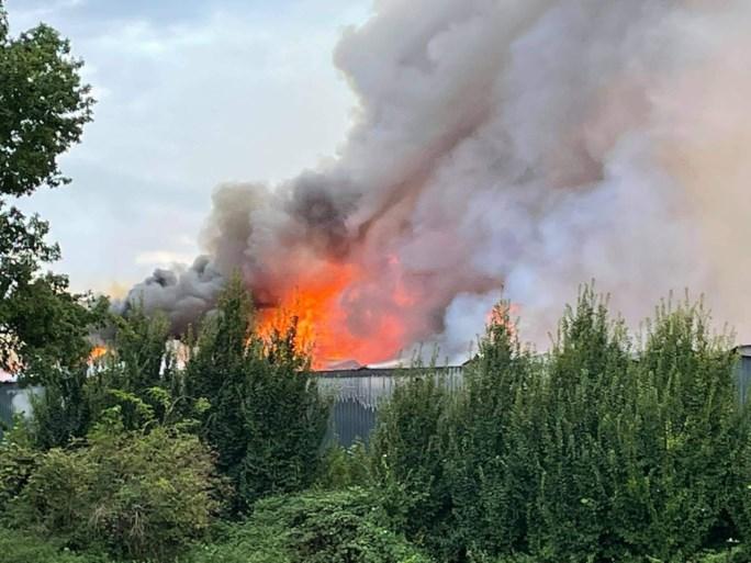 Zware brand in kippenbedrijf: tienduizenden kippen overleven vlammenzee niet