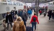 Meeste volk op trein en metro sinds start coronacrisis