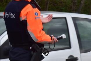 Politie betrapt bestuurders tijdens alcoholcontrole