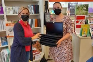De VoorZorg schenkt laptops aan De Frakstok