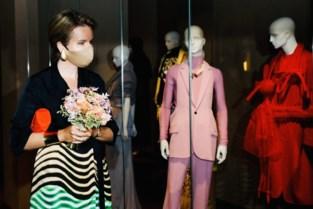 Sint-Jobse bloemist Babette mag ruiker Koningin Mathilde maken