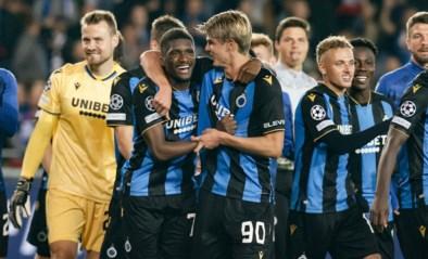 ONZE PUNTEN. Alleen maar goede commentaren voor Club Brugge, met vijf onderscheidingen