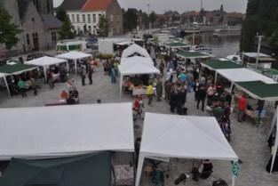 BioEcomarkt op Sint-Poppoplein en KorteKeten minifestival