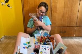 Mathias (11) viert toch nog leuke verjaardag in quarantaine na oproep van mama