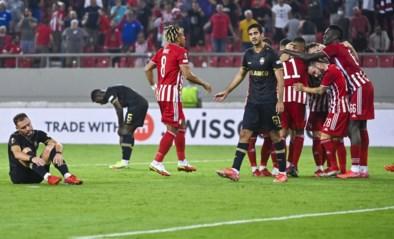 Griekse tragedie voor Antwerp in Europa League: Great Old blijft na prima prestatie met lege handen achter