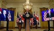 """Frankrijk en China niet te spreken over nieuw veiligheidspact van VS, VK en Australië: """"Koude Oorlog-mentaliteit"""""""