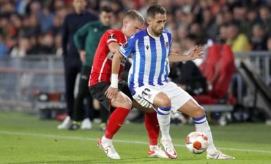 EUROPA LEAGUE. Januzaj scoort in gelijkspel van Sociedad bij PSV, Osimhen bezorgt Napoli een punt tegen de Belgen van Leicester