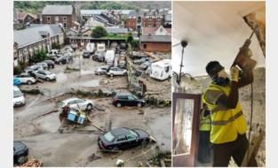 """Merksemse leerlingen helpen na overstromingen in Wallonië: """"Ik wist niet dat het zó erg was"""""""