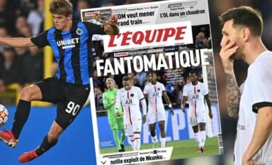 """PSG en Lionel Messi krijgen ervan langs, bizarre punten maar ook veel lof voor Club: """"De Bruggelingen waren aartsgevaarlijk"""""""