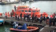 Negentigtal migranten op zee gered en naar Frankrijk teruggebracht