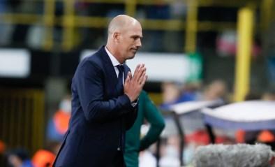 """Club-coach Philippe Clement zag hoe zijn boodschap aankwam bij zijn spelers: """"Dit is een historische match"""""""
