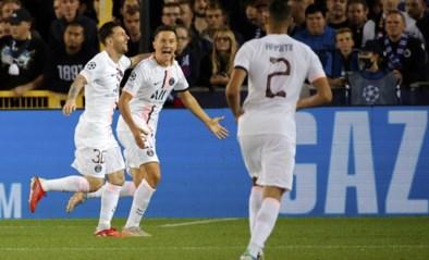 """Niet iedereen bij PSG was blij met een punt in Brugge: """"We verdienden om te winnen"""""""