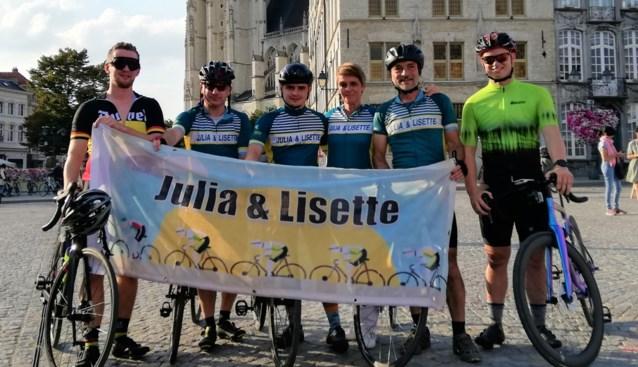Toon Pellegrims zamelt bijna 5.000 euro in voor KOTK met fietstocht langs landsgrens