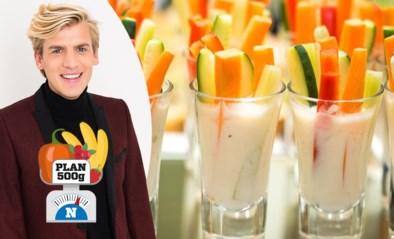 Rauwe groenten bij het aperitief: gezond, maar wat als je ze in de mayonaise dipt?