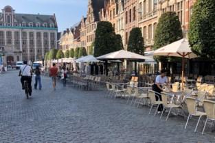 """Stadsbestuur behoudt uitgebreide terrassen tot de lente: """"De koude temperaturen houden mensen niet tegen om buiten te zitten"""""""