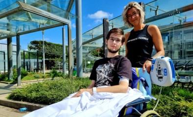 Noodlot slaat toe voor 17-jarige Yanni die al in rolstoel zit nadat hij werd aangereden: dokters moeten been amputeren